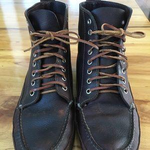 LL Bean chukka mocassin boots